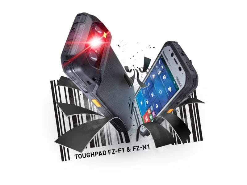 Panasonic FZ-F1 fully Rugged Handheld and barcode scanner