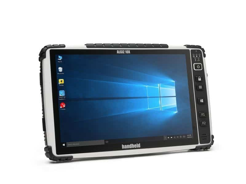 "Handheld 10"" rugged Tablet"