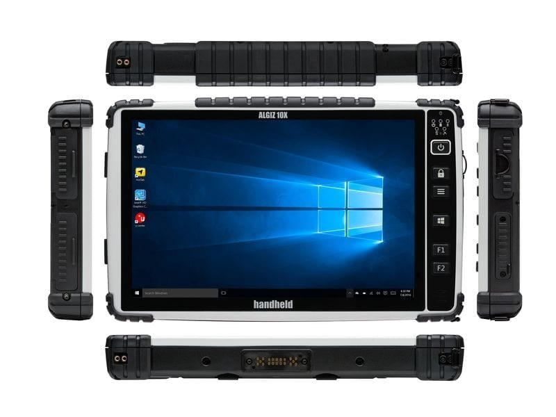 "Handheld 10"" rugged Windows Tablet"