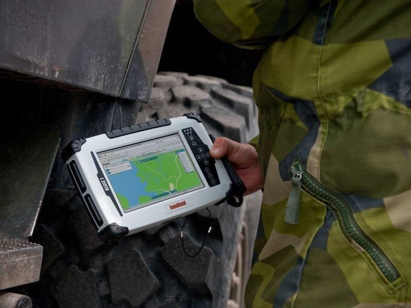 Handheld Algiz 7 rugged tablet