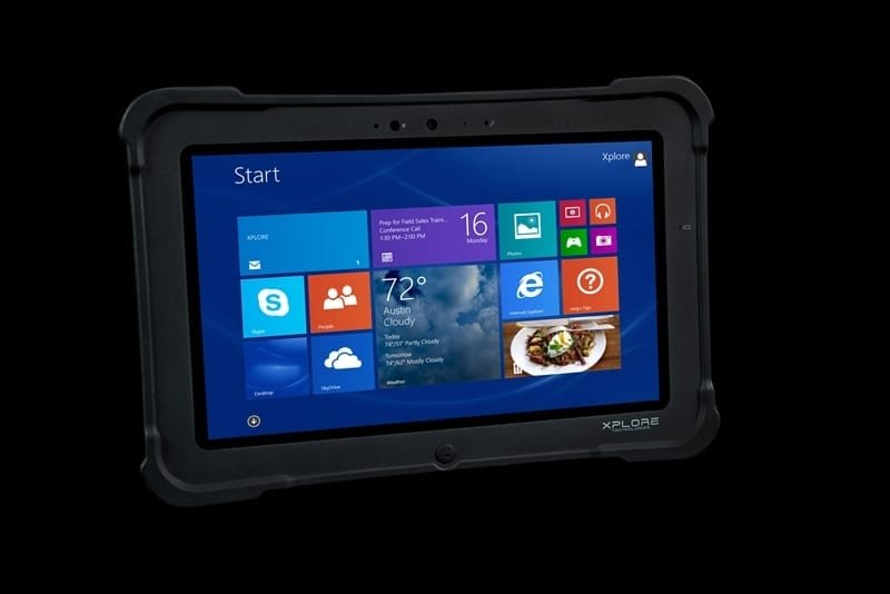 Bobcat rugged tablet from Xplore