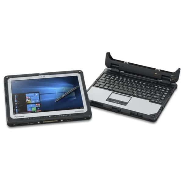 Panasonic CF-33 detachable fully rugged tablet and keyboard