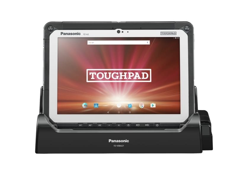Cradle for rugged tablet FZ-A2 from Panasonic
