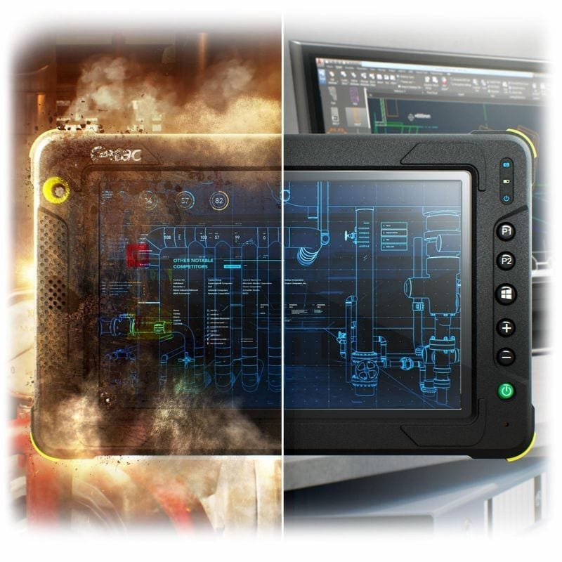 Fully Rugged Getac EX80 tablet