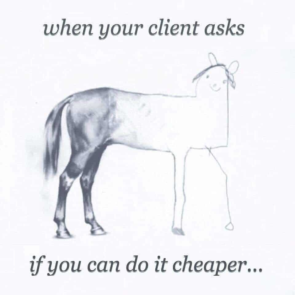 keeping costs down or getting value
