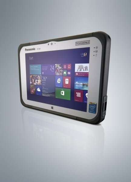 Panasonic FZ-M1 7 inch tablet fully rugged