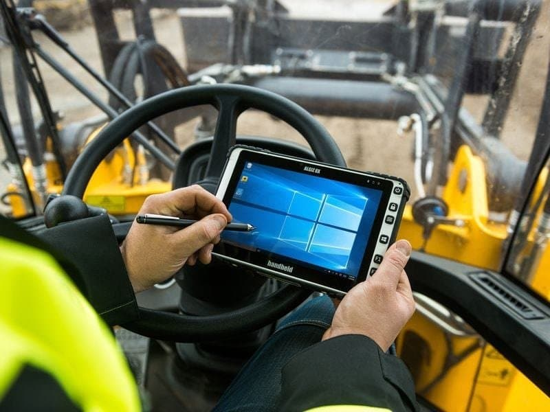 Handheld Nautiz 8x Rugged tablet