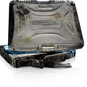 Melted toughbook