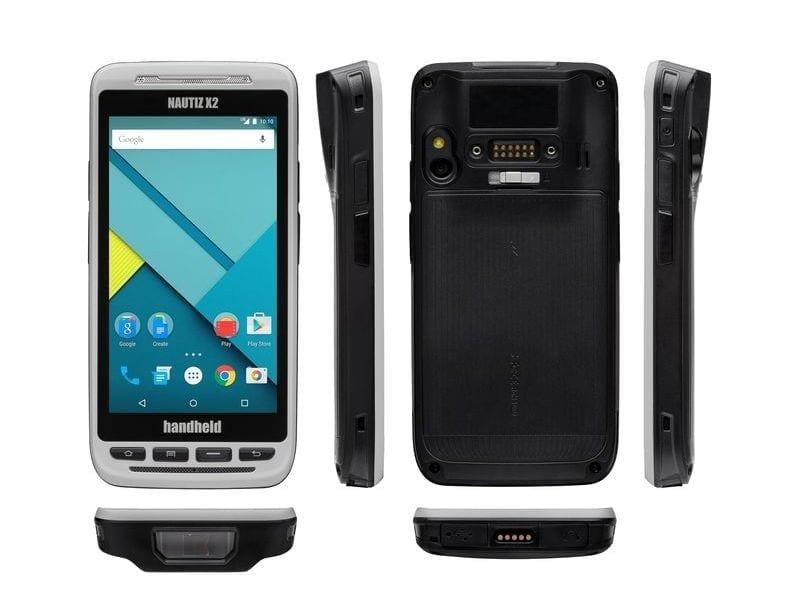 Handheld Nautiz X2 rugged smartphone