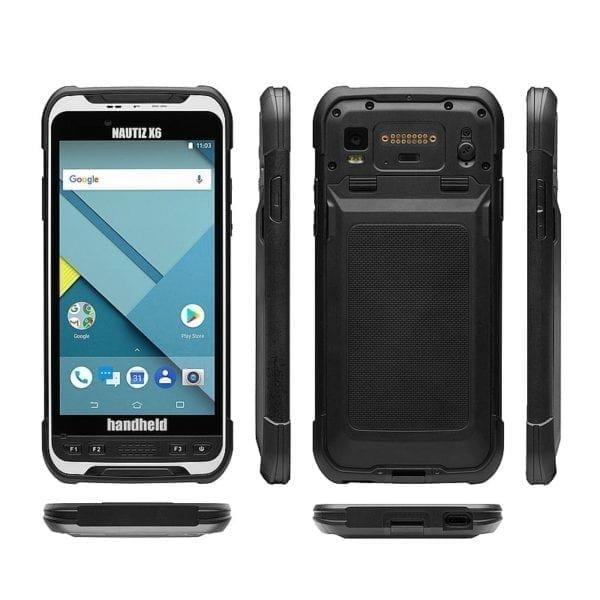 Fully Rugged handheld Phablet Nautiz X6