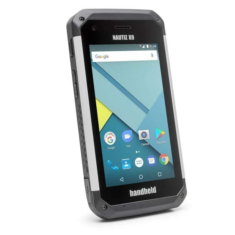 Handheld Nautiz X9 Ultimate outdoor Rugged PDA