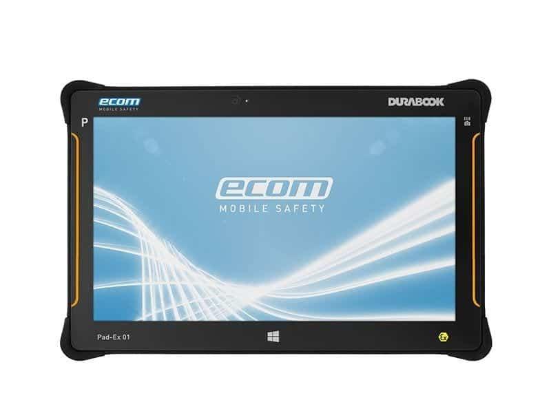 ecom Pad-ex01 ATEX tablet