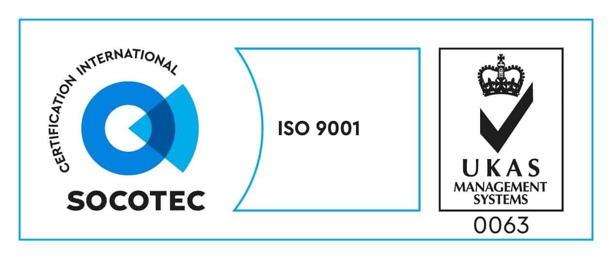 ISO9001 2015 acreditation logo