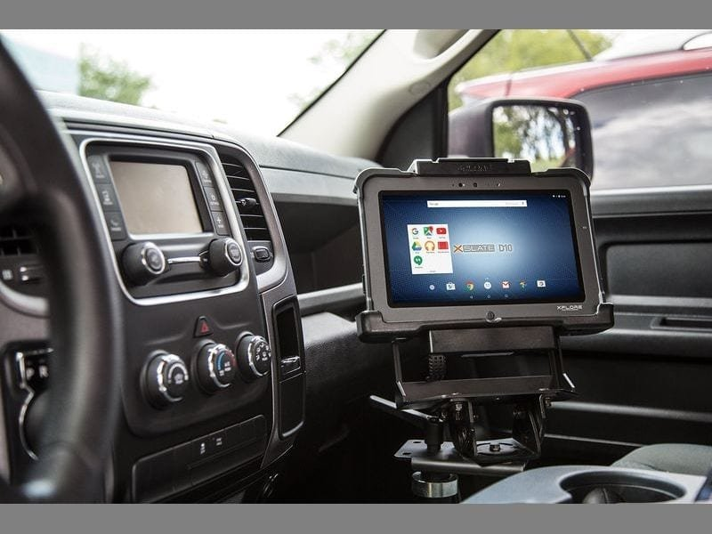 Xplore tablet vehicle dock
