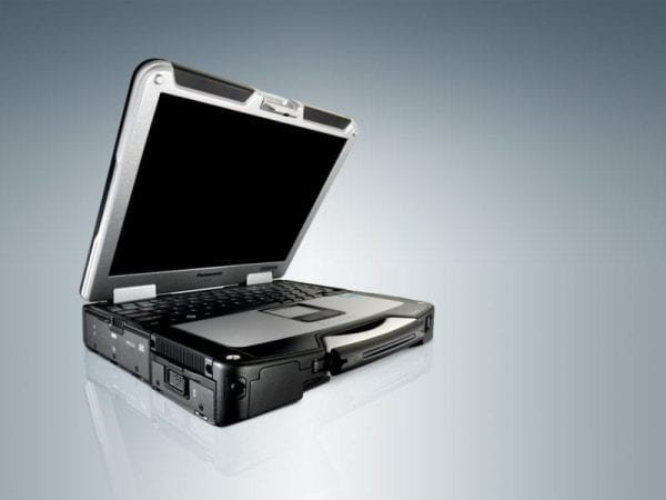 Side view of Panasonic CF-31 Toughbook