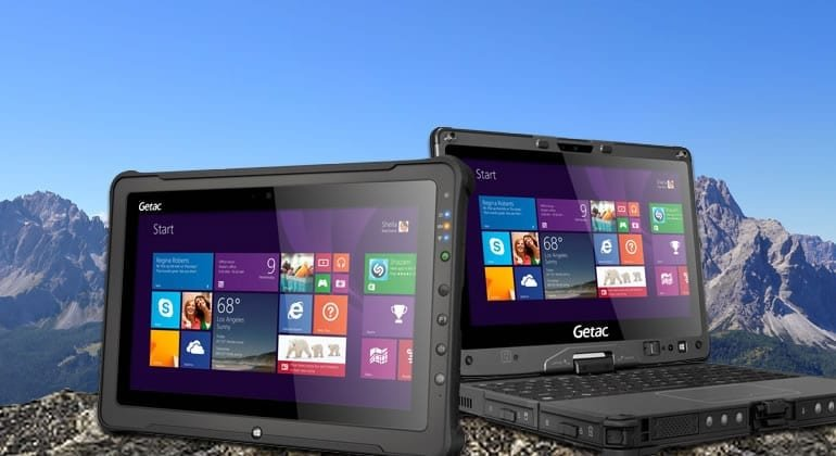 A vision of Getac devices in the hills