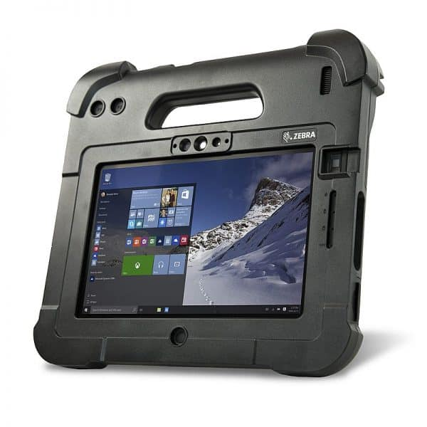 Image of the ATEX certified Zebra L10 Xpad tablet