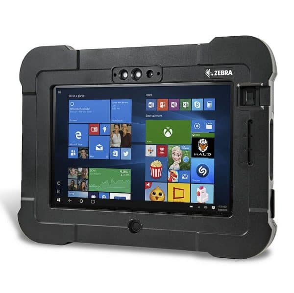 Image of teh Zebra L10 ATEX Xslate rugged tablet